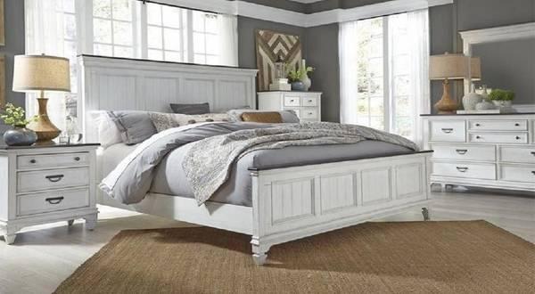 Coastal bedroom king (3299) - furniture - by owner - sale