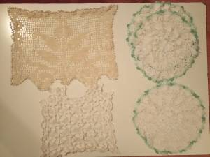 Crochet Doilies-Table Napkins and Linens for sale  Boston