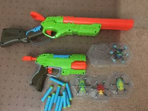 3 Nerf Guns with Extras (Chevy Chase) for sale