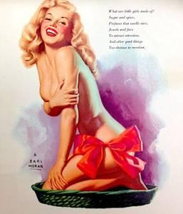 Marilyn Monroe by Earl Moran Calendar (Virginia Beach) for sale