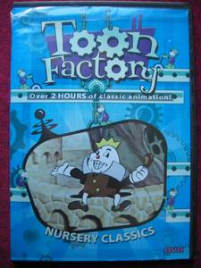 Toon Factory Cartoon DVD... Classic Nursery Stories Edition (Green Bay) for sale