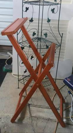 Wood rack - furniture - by owner - sale
