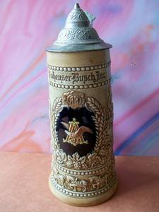 A&Eagle Anheuser-Busch Lidded Stein CSL2 1976 (Waltherson, Baltimoe City) for sale