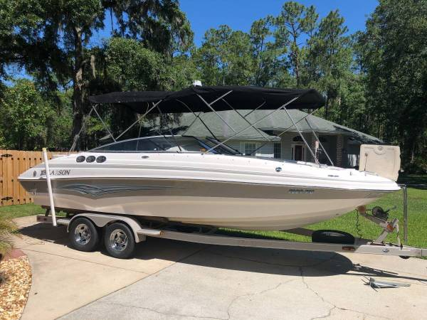 2007 larson 254 escape deck boat - boats - by owner - marine sale