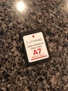 Navigation A7 A6 A4 Update Ford Sync SD Card (Monroe) for sale