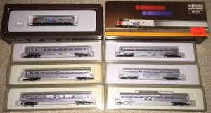 AZL, Marklin Z scale Trains, track, Amtrak, Calif.Zephyr, more! (Cleveland Westpark) for sale