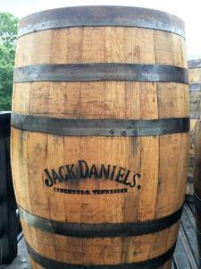 Used, Fresh from America's favorite distillery, Used Jack Daniel's Barrels (Brooksville) for sale