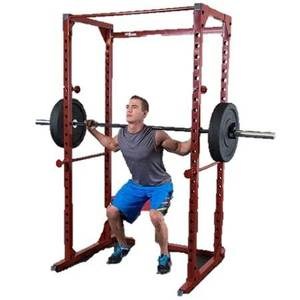 New Body Solid Best Fitness Power Squat Rack Free Weight Safety Cage (Frisco), used for sale
