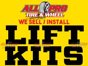 """WE INSTALL 3"""" 4"""" 5"""" 6"""" 7.5"""" LIFT KITS SPECIAL! Best Pri (We Finance!☑ NO CREDIT NEEDED) for sale"""