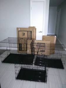 NEW TRAINIG DOG KENNEL CRATE CAGE HOUSE PUPPY PETS (phoenix), used for sale  Phoenix