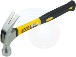 20oz 560g Claw Hammer Lightweight Fiberglass Smooth Face Nail Puller (Richmond) for sale  Vancouver