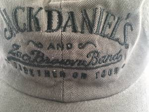 NEW JACK DANIELS AND ZAC BROWN TOUR HATS AND POSTER (BURNSVILLE), used for sale