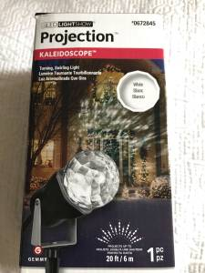 Brand New - In Box - LED Light Show Kaleidoscope Projection Lights (North Charlotte), used for sale