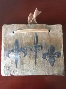 Fleur de lis slates (Metairie) for sale
