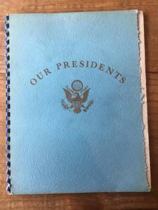 Our Presidents by T.E. Lindsey (Fletcher) $15