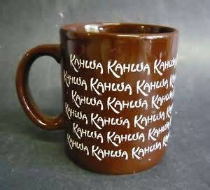 Vintage Kahlua Coffee Mugs (scotts valley), used for sale