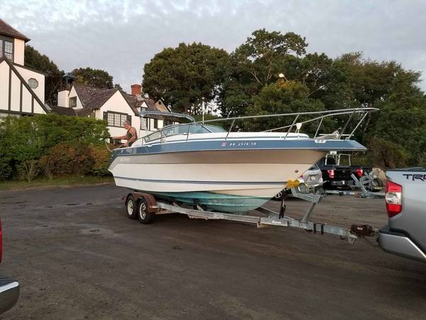 1988 crusiers inc cabin cruiser - barnegat 2560 - boats - by owner -...