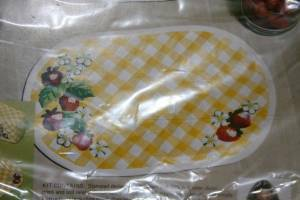 Sewing Craft Kits -- Strawberry Placemats & Christmas Mouse Picture (SFV Cerritos Anaheim)