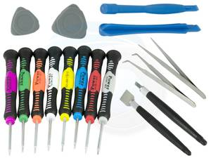 16pcs watch repair tool set mobile phones tablet plastic case opener (Richmond), used for sale  Vancouver
