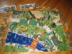 Military Toy Playsets: Soldiers, Vehicles, Guns, Tanks, 3 Sets Availab (Berlin, MA) for sale