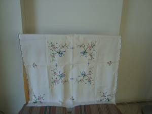 Hand Embroidery Square Table Runner for sale  Seattle
