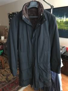 Used, Men's Zara Overcoat Jacket, with Removable Liner - 3/4 Length, Medium (Downtown) for sale  Vancouver