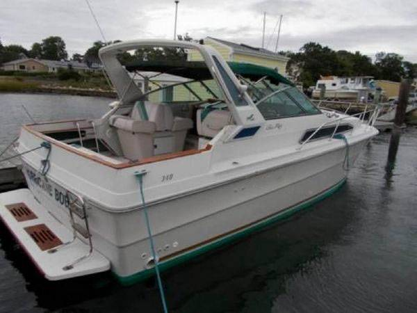 1988 sea ray 340 express cruiser - boats - by owner - marine sale