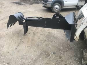 "Used, skid steer backhoe digger attachment w/ thumb, 16"" bucket (West Cincinnati, Sayler Park) for sale"