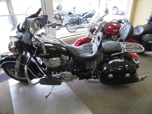 2016 indian motorcycle chieftain thunder black -...