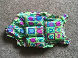 girls float swim suit 50 - 70 lbs (Belfast) $15