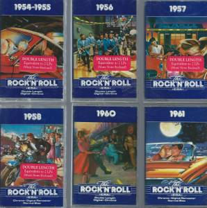 DICK CLARK'S The ROCK 'N' ROLL ERA 1954-1961 TIME LIFE 6 AUDIOTAPE SET (North Branch), used for sale