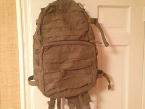 Used, Eagle industries 3 day tactical back pack (Springfield NJ) for sale