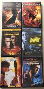 Used, DVD MOVIES EACH (Nashua, NH) for sale