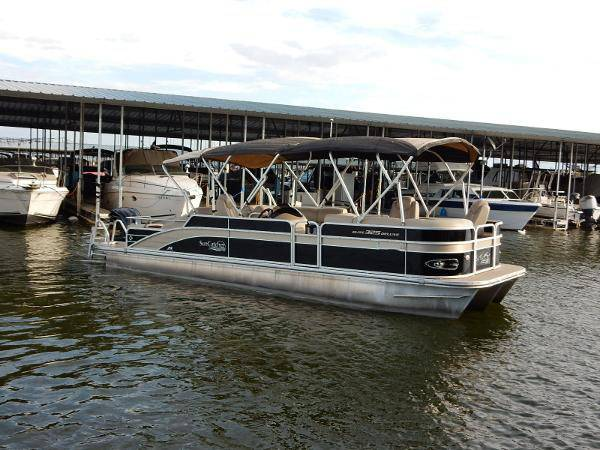 2012 g3 elite deluxe pontoon boat low hours zvo - boats - by owner -...
