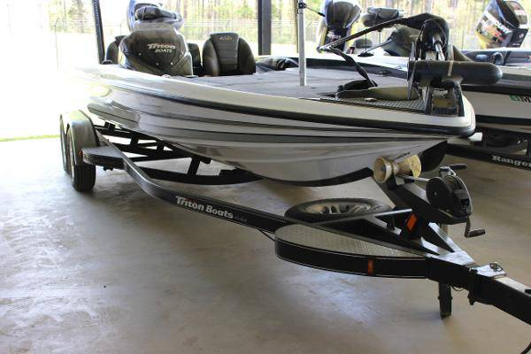 2012 triton 21 hp fishing bass mre - boats - by owner - marine sale
