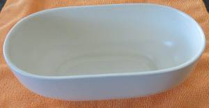 Haeger Pottery White Planter (114th and Pacific - Omaha), used for sale