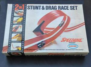 _vintage 60's Aurora Cigarbox HO-scale CAR race sets, (like HotWheels) (north portland) for sale  Seattle