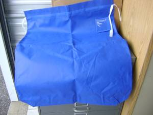 Used, Fabric gift bags reusable multi-purpose cloth bags several sizes 25 (Midland) for sale