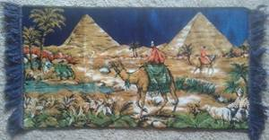Egyptian wall tapestry from 1960s or earlier (South LV), used for sale  Las Vegas