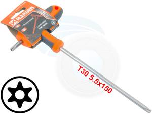 T30 T-Handle Torx Security Pin 6 Point Star Key CRV Screwdriver Wrench (Richmond) for sale  Seattle