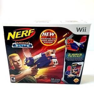New Seal Nerf N-Strike Elite Nintendo Wii Game Gun Red Reveal Tech Etc (West LA) for sale