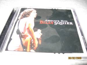 Billy Squier Absolute Hits CD (NW Valley) $3
