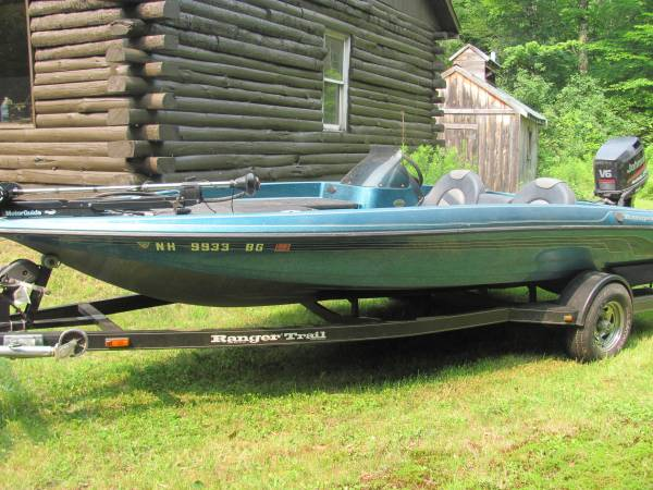 1999 ranger r81 bass boat - boats - by owner - marine sale