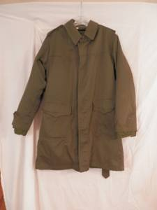 Used, Vintage Russian fishtail Parka with coat liner  T.K.C. Zagres 1981 (Geneva) for sale