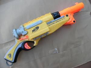 NERF N-Strike Barrel Break 1X-2 Double Barrel Dart Gun LIKE NEW! (fremont / union city / newark) for sale