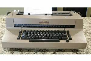 IBM Selectric II Correcting Typewriter Tan/Beige Color (Naperville) for sale