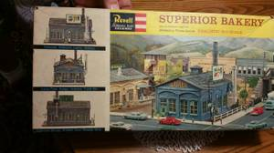 1960's Revell HO Scale Superior Bakery Building Kit (chicopee) for sale  Boston