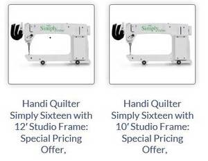 Long Arm Quilting Machines - New for sale