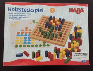 Used, Haba Wooden Peg Toy (Lincoln Park) for sale