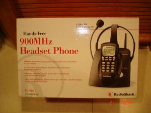 Phones - headset hands free and portable,  Phone jack system for sale